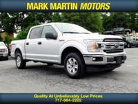 BACKUP CAMERA, 4X4, 5.0 V8, CREW CAB, BLUETOOTH, GO TO