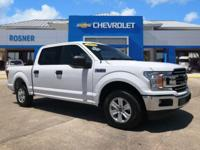 Oxford White 2018 Ford F-150 XLT RWD 10-Speed Automatic
