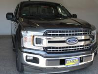 2018 Ford F-150 XLT Magnetic Super Cab 20/26mpg
