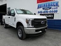 4WD. New Price! Oxford White 2018 Ford F-250SD XL 4WD