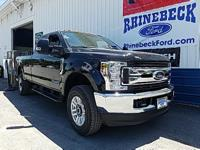 4WD. Recent Arrival! Shadow Black 2018 Ford F-350SD XL
