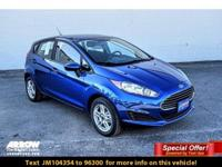 Lightning Blue 2018 Ford Fiesta SE FWD Automatic 1.6L