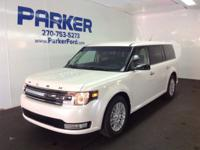 This outstanding example of a 2018 Ford Flex SEL is