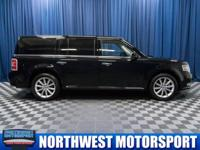 One Owner Clean Carfax AWD SUV with Leather 3rd Row