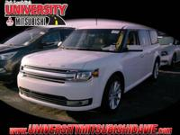 **HAGGLE FREE PRICING** White 2018 Ford Flex