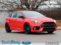 2018 Ford Focus RS Race Red AWD 6-Speed Manual 2.3L