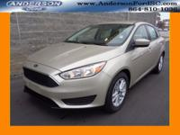 2018 Ford Focus SE I4 White Gold Our Pricing Mission at