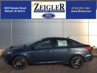 2018 Ford Focus Blue Metallic SEL MOONROOF, MYFORD