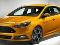 $2,500 off MSRP! 2018 Ford Focus ST   We are having our