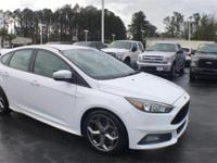 2018 Ford Focus ST Oxford White 2.0L GTDi FWD 6-Speed