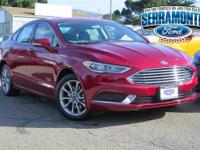 Ruby Red 2018 Ford Fusion Energi SE FWD eCVT