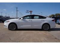 Recent Arrival! Oxford White 2018 Ford Fusion Hybrid
