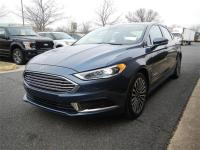 2018 Ford Fusion Hybrid Titanium in Blue Metallic w/
