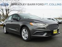 New Price! Magnetic 2018 Ford Fusion Hybrid S FWD eCVT