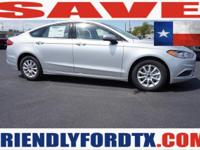 Scores 32 Highway MPG and 21 City MPG! This Ford Fusion