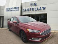 Ruby Red 2018 Ford Fusion S FWD 6-Speed Automatic I4