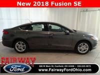 2018 Ford Fusion SE***Heated Front Seats***10-Way Power