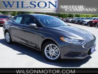 Magnetic 2018 Ford Fusion SE FWD 6-Speed Automatic