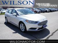 Ingot Silver 2018 Ford Fusion SE FWD 6-Speed Automatic