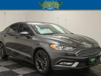Magnetic Metallic 2018 Ford Fusion SE FWD 6-Speed