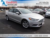 New Price! Silver 2018 Ford Fusion SE FWD 6-Speed