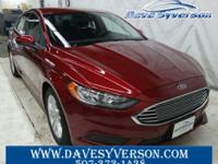 Ruby+Red+2018+Ford+Fusion+SE+FWD+6-Speed+Automatic+EcoB