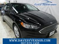 Shadow+Black+2018+Ford+Fusion+SE+FWD+6-Speed+Automatic+
