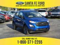 *2018 Ford Eco Sport S - *Sports Utility Vehicle - I3