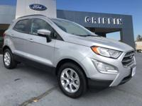 New Price! Moondust 2018 Ford EcoSport SE FWD 6-Speed