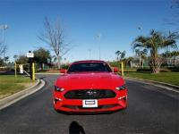 Red 2018 Ford Mustang EcoBoost Premium RWD 10-Speed