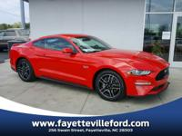 Race Red 2018 Ford Mustang GT RWD 10-Speed Automatic