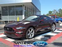 This Ford Mustang has a strong Premium Unleaded V-8 5.0