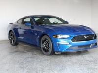 2018 Ford Mustang GT Lightning Blue 2D Coupe 5.0L V8
