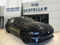 Shadow Black 2018 Ford Mustang GT Premium RWD 10-Speed