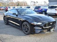 Shadow Black 2018 Ford Mustang GT RWD 10-Speed