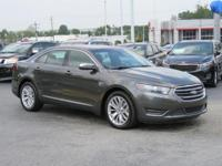 Gray 2018 Ford Taurus Limited FWD 6-Speed Automatic