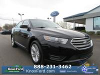 Shadow Black 2018 Ford Taurus SEL FWD 6-Speed Automatic
