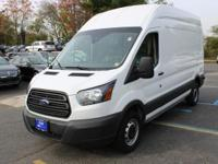 White 2018 Ford Transit-250 RWD 6-Speed Automatic with