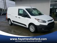 Frozen White 2018 Ford Transit Connect XL FWD 6-Speed