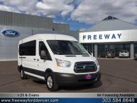 Oxford White 2018 Ford Transit-350 XLT RWD 6-Speed