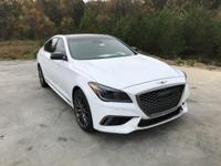 2018 Genesis G80 3.3T Sport RWD 8-Speed Automatic with