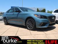 New Arrival! This 2018 Genesis G80 is Polar Ice with a