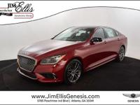 2018 Genesis G80 3.3T AWD Sport ABS brakes, Compass,