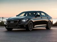 2018 Genesis Black G80 V6 3.3T Sport 17/25mpg  Options: