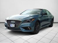 Navigation! AWD! This wonderful 2018 Genesis G80 is the