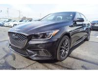 Don't miss out on this 2018 Genesis G80 3.3T Sport! It