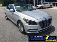 2018 Genesis G80 3.8 RWD 8-Speed Automatic with