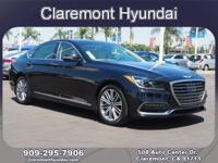 2018 Genesis G80 3.8 3.8 8-Speed Automatic with