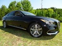 New Arrival! This 2018 Genesis G80 Black Bob Mayberry