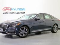New Price! 2018 Genesis G80 3.8 27/19 Highway/City MPG
